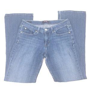 Levis 518 Jeans Superlow Boot Cut Size 9
